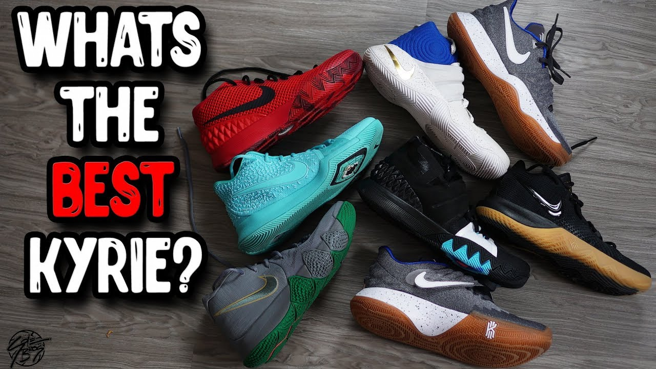 Detailed Look at Nike's Kyrie Signature Line! What's the Best Kyrie