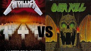 Song Squabble #1 - Metallica - Master Of Puppets vs Overkill - Elimination