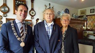 Echtpaar Troost Foppen 65 jaar getrouwd