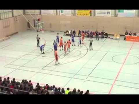 Aubrey Conerly ProB Konstanz vs. Dresden