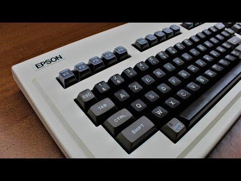 Epson Q703A keyboard review (Fujitsu leaf spring 2nd generation)