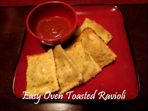 Jen's Easy Oven Toasted Ravioli