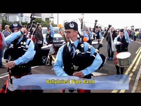Portrush Pipe Bands 2017
