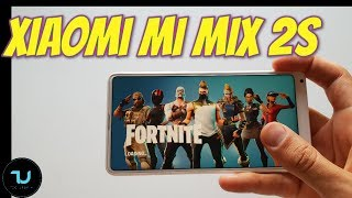 Xiaomi Mi Mix 2S Fortnite Gameplay/High graphics EPIC Mode 30 FPS with Heating test