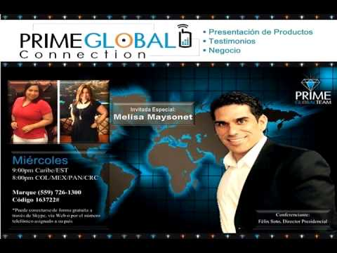 Prime Global Connection - Invitada Especial: Melisa Maysonet