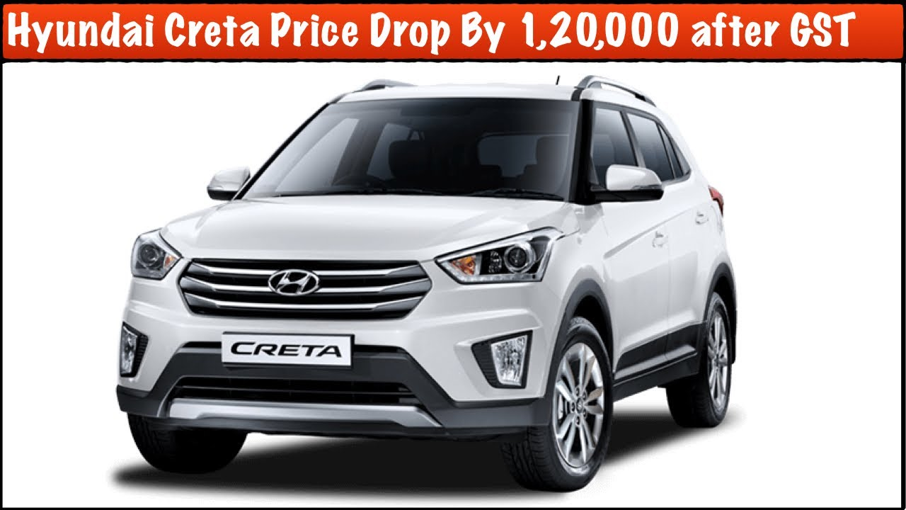 Hyundai creta price starts from 8 59 lakhs launched in india - Hyundai Creta New Price And Discount After Gst