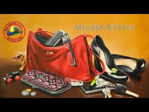 Fine art tips on how to paint Acrylic Portraits with Melissa