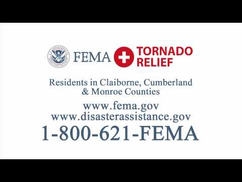 FEMA 2012 Tennessee Tornado Assistance • WBIR • Knoxville, TN