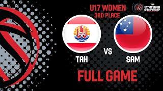 Tahiti v Samoa - Full Game - FIBA U17 Women's Oceania Championship 2019