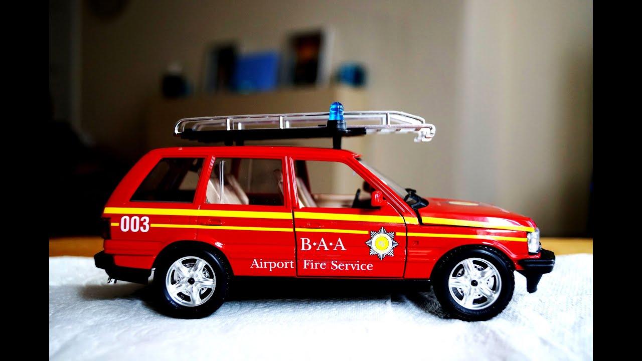 Building A Range Rover BAA Fire Tender 1994 Scale 1 26