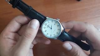 Обзор и настройка. Мужские механические часы Winner Lux White с автоподзаводом