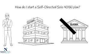 How can you get a Self Directed Solo 401(k)?