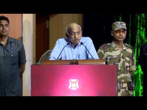 ISRO Chairman Addressing the Nation at National Cyber Defence Summit '16