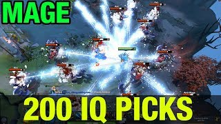 200 IQ PICKS!! - MAGE MORPHLING WITH INSANE COMBO - Dota 2
