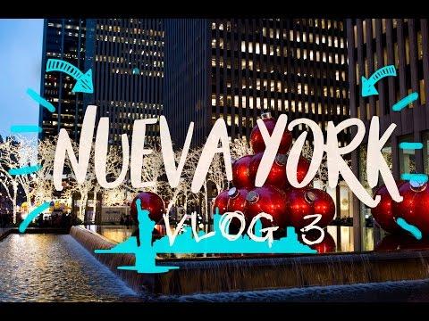 NUEVA YORK. ROCKEFELLER CENTER, BRYANT PARK | VLOG 3