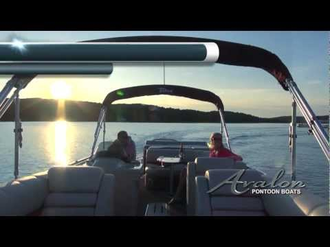 2013 Luxury Pontoon Boats - The Avalon Paradise - Deco Series