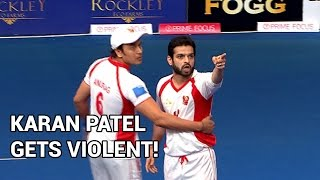Karan Patel gets abusive and violent on the sets – BCL promo
