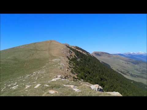 Mirador del Ripollès (Serra Cavallera, Puig Estela y Taga)