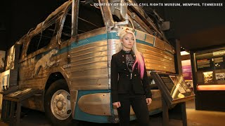 Black History Month: Superstars learn about the Freedom Rides at the National Civil Rights Museum