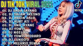 DJ ANGKLUNG TERBARU VIRAL 2021 - DADA SAYANG, SALAM TRESNO, KUAT ATI REMIX SPESIAL 2021