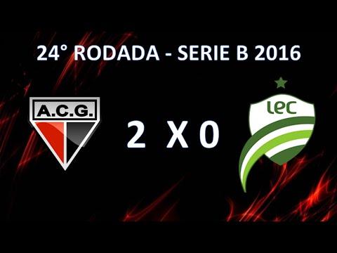 Melhores Momentos - Atlético-GO 2 x 0 Luverdense  - 23 Rodada Campeonato Brasileiro Serie B 2016