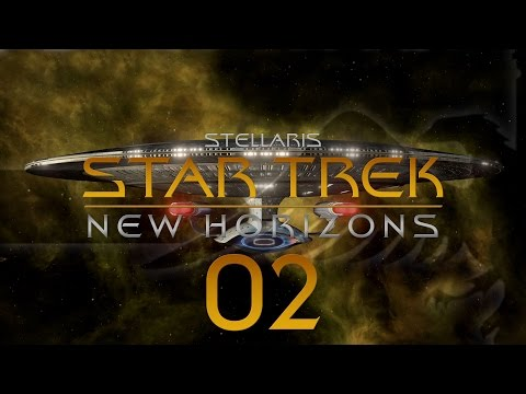 Stellaris Star Trek #02 STAR TREK NEW HORIZONS MOD - Gameplay / Let's Play
