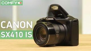 Canon PowerShot SX410 IS Black - компактная фотокамера с мощной вспышкой - Видео демонстрация