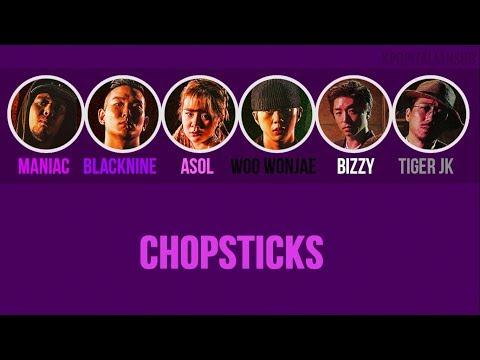 [SUB ENG / ITA] MANIAC, BLACKNINE, ASOL, WOO WONJAE - Chopsticks (ft Tiger JK, Bizzy)