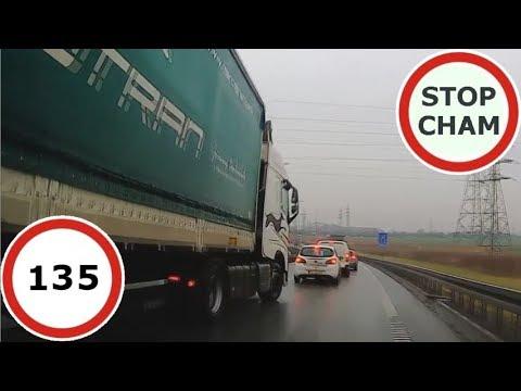 Stop Cham #135 – Niebezpieczne i chamskie sytuacje na drogach