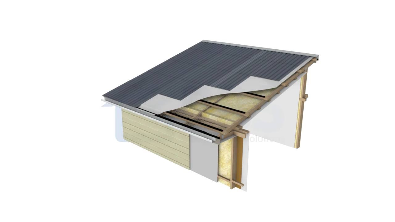 Skillion Mono Pitch Roof Bbs Passive Ventilation Youtube