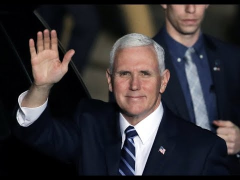 "Prophecy Alert: ""Pence Visits Middle East"""