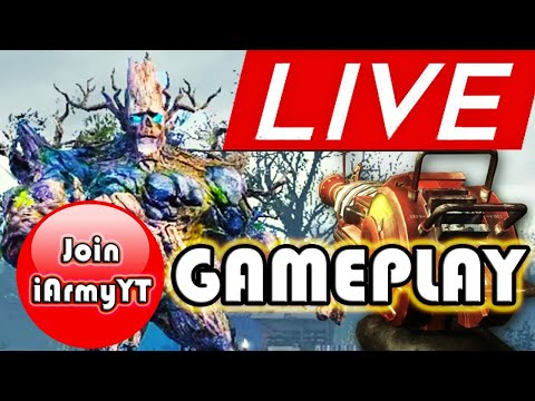 🔴 CALL OF DUTY MOBILE ZOMBIES LIVE - EASTER EGG BOSS JUBOKKO GAMEPLAY - iArmyYT - 동영상