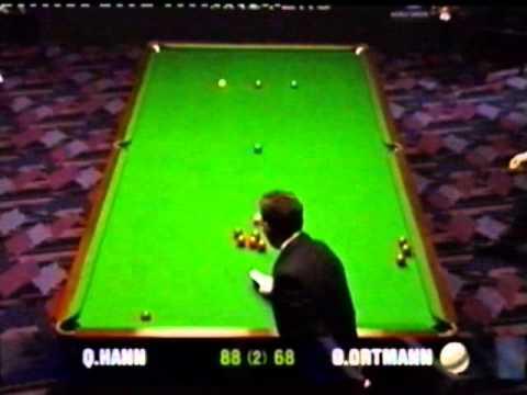 Oliver Ortmann runs unfinished 75 break at Snooker