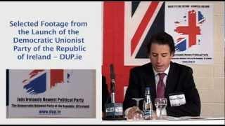 DUP.ie  Party Political Launch
