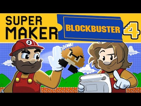 New Super Mario Maker | Let's Play Blockbuster  Ep. #4 | Super Beard Bros.