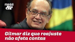 Mendes: Reajuste do STF não aumenta despesas se condicionado ao fim do auxílio-moradia