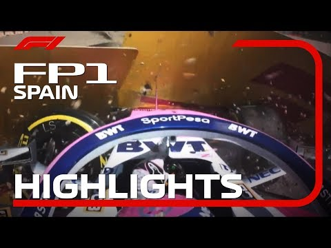 2019 Spanish Grand Prix | FP1 Highlights