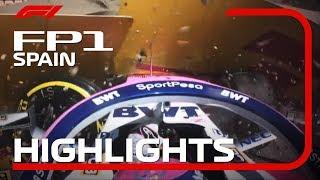 2019 Spanish Grand Prix | FP1 Highlights
