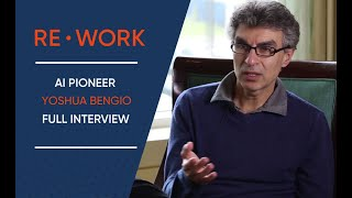 RE•WORK Interview with Yoshua Bengio - Deep Learning Summit, Boston, 2016 #reworkDL
