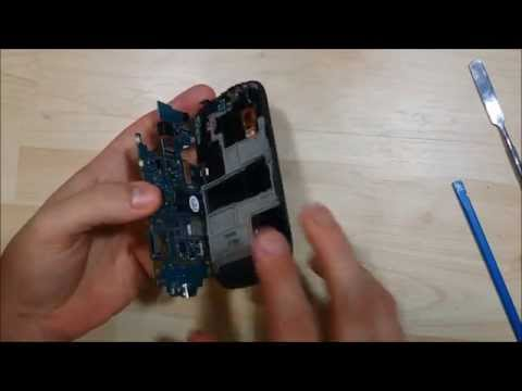 Samsung Concord / Exhibit T-599 Disassembly - Glass Replacement