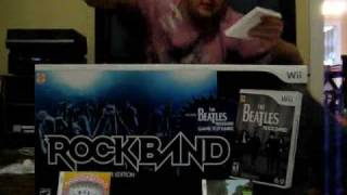 Beatles Rock Band Unboxing - Special Value Edition for the Wii