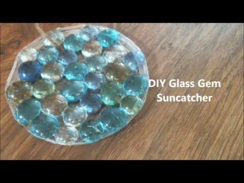 DIY Glass Gem Suncatcher