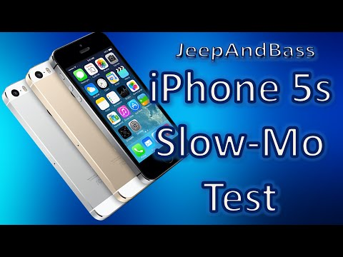 iphone 5s slow iphone 5s motion bass test demo 1995