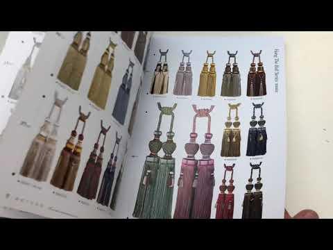 Коллекция аксессуаров для штор. Тесьма,бахрома, кисти, шнуры и галлоны.