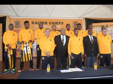 Kaizer Chiefs sign eight new players