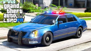 GTA 5 Mods - The WORST Police Car EVER!! (LSPDFR Gameplay)