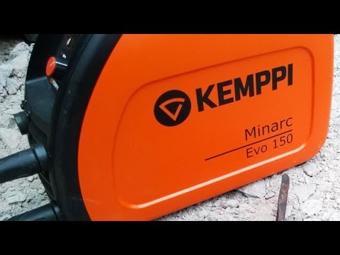 Ford 5000 tractor front loader bucket welding using Kemppi Minarc 150 Evo