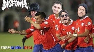 Himno del Mundial 2014 - Formación Ideal (CHILE - DISFONÍA)