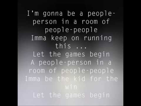 AJR- Let the Games Begin - Lyrics (clean edit)
