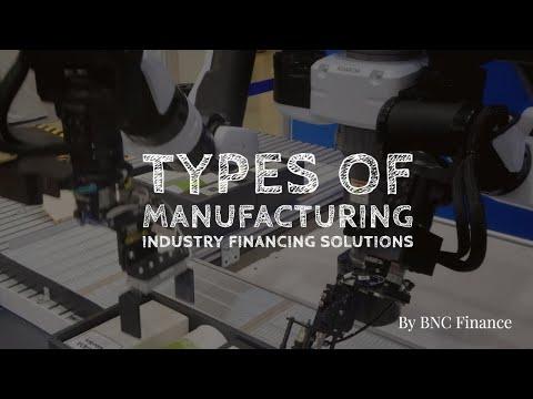 Manufacturing Equipment Financing; Equipment Leasing
